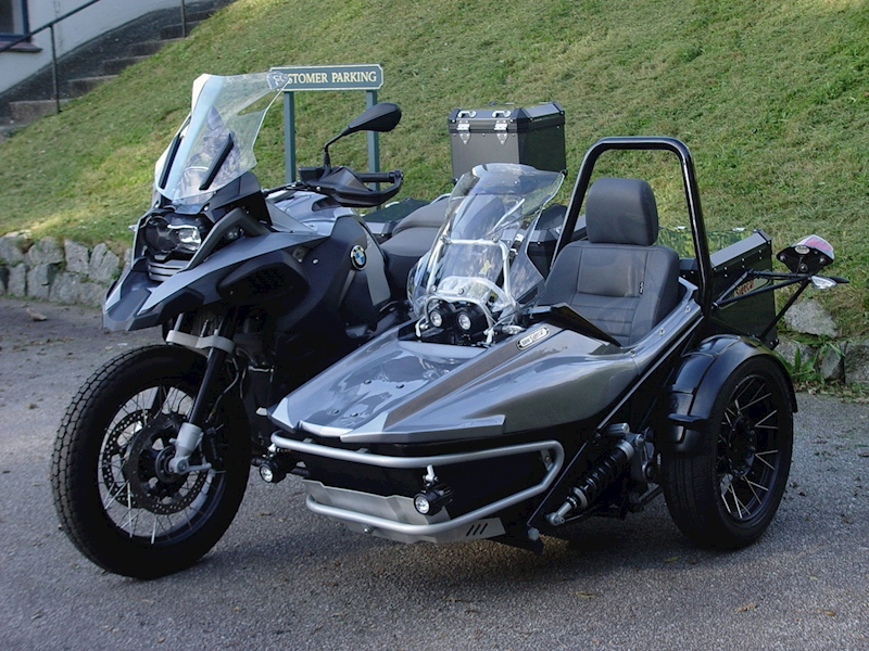 Bmw R1200 Gs Adventure Motorcycle And Sidecar 15 15